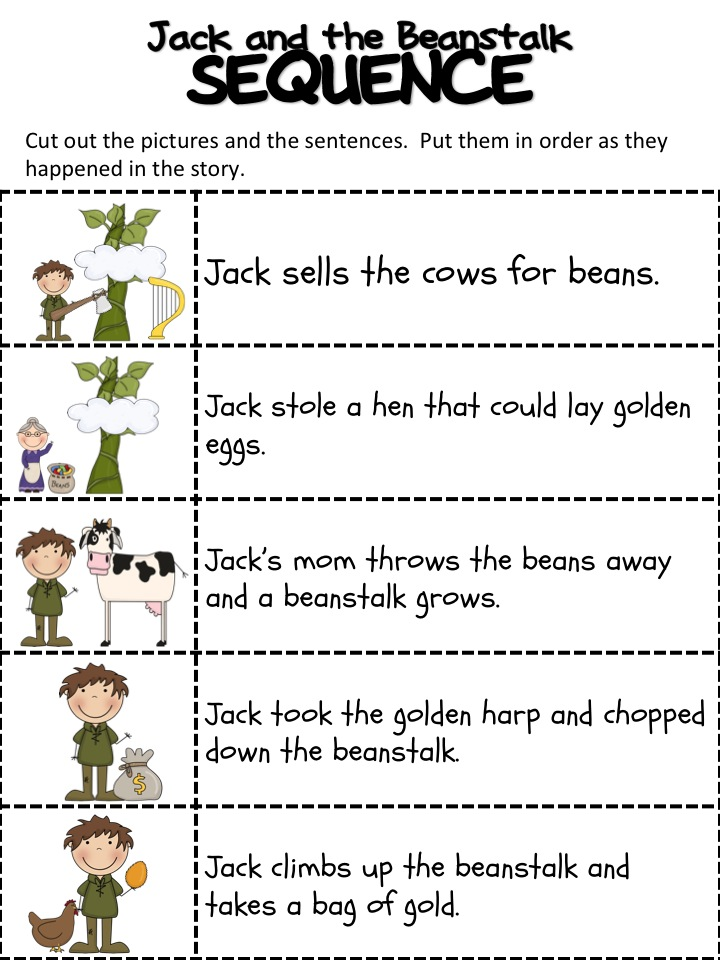 Jack And The Beanstalk Printables Jack and the beanstalk