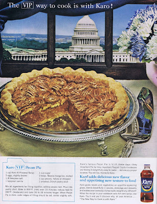 A Pecan Pie recipe from 1964 featuring Karo Syrup.