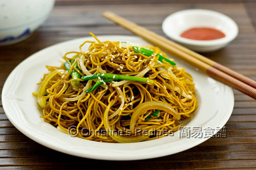豉油皇炒麵 Supreme Soy Sauce Fried Noodles02