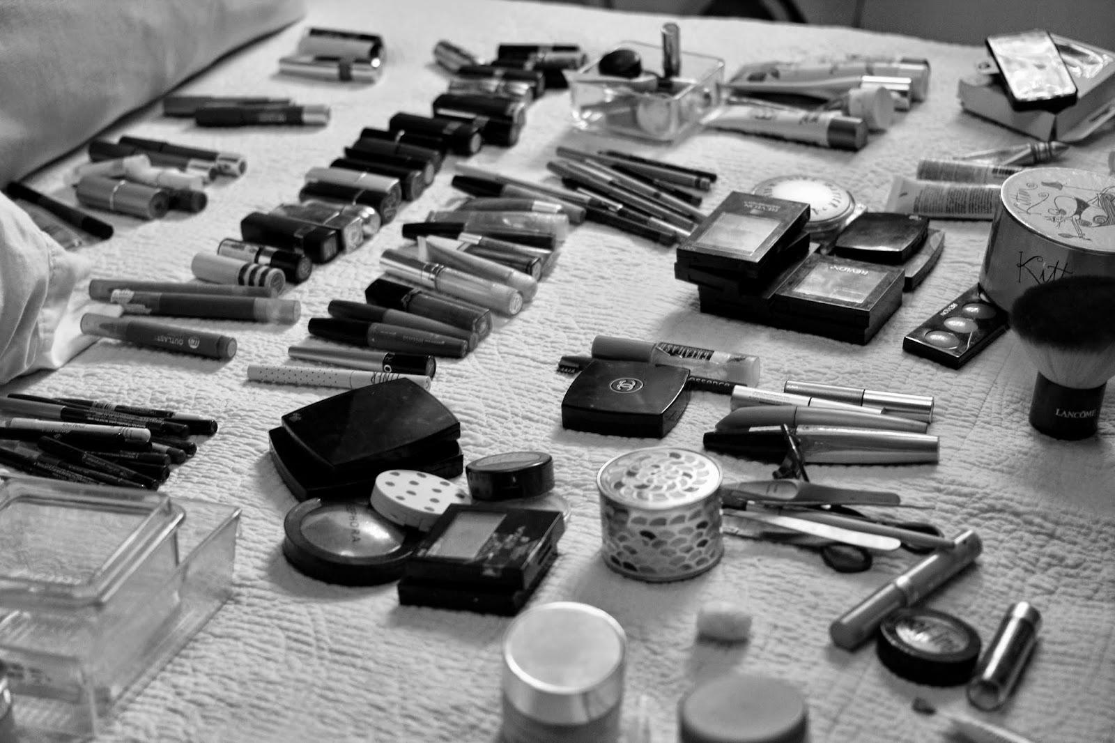 makeup organisation, makeup storage, makeup collection