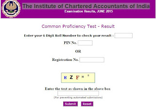 The Institute of Chartered Accountants of India Exam : Common Proficiency Test (CPT)