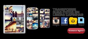 Fazer capinhas personalizadas com fotos Voucolar