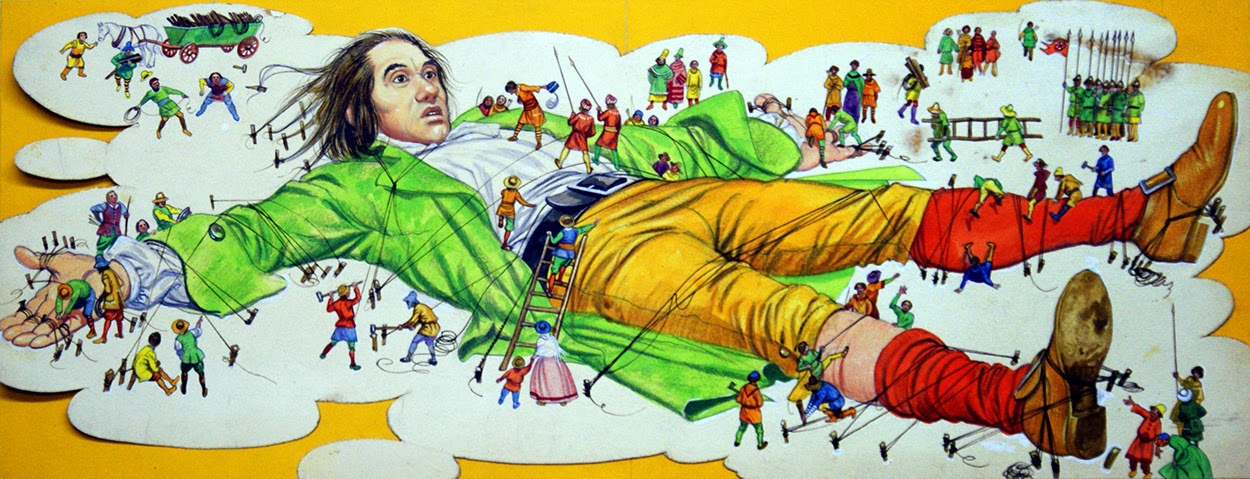 an analysis of the topic of gulliver in houynhnmland Character analysis: lemuel gulliver : as you might expect, lemuel gulliver is the star and central character of gulliver's travels in fact, he narrates the novel himself, and he is the only.