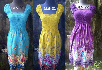 dress bali panjang