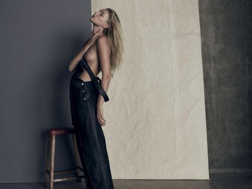 Elsa Hosk naked photo for So It Goes Magazine #6 Fall Winter 2015 photo shoot