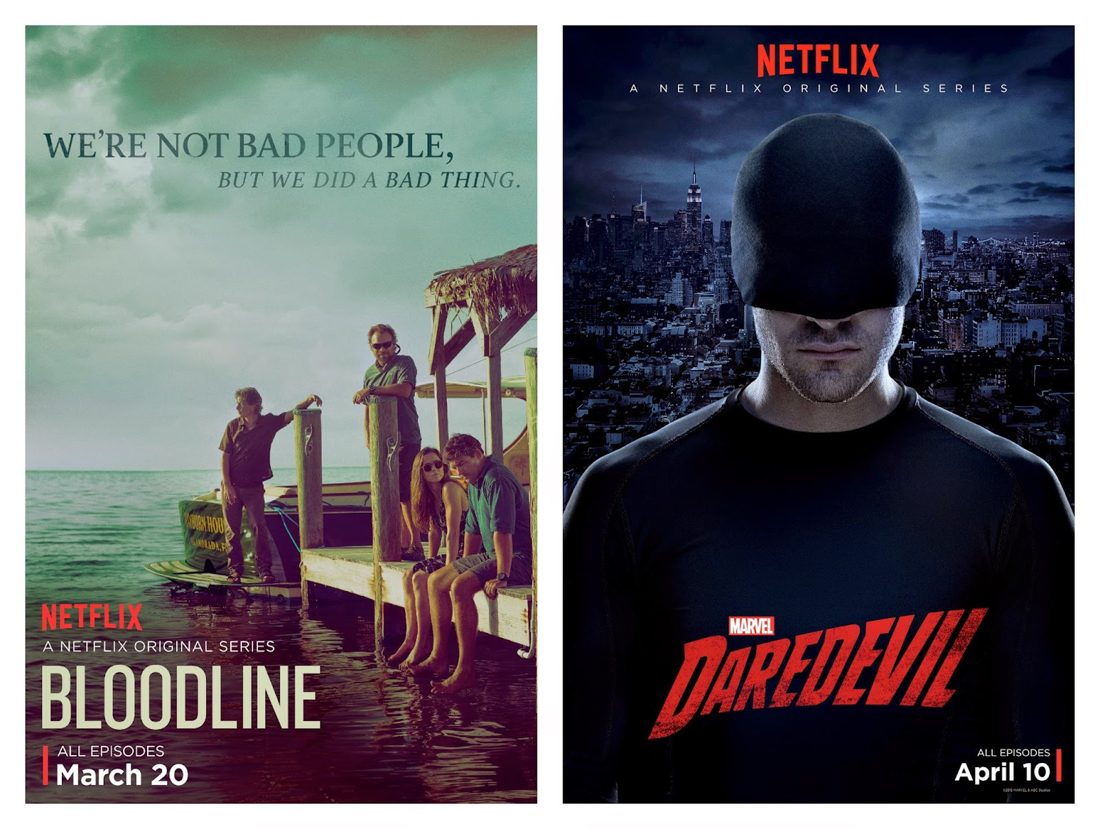 Netflix Originals: Bloodline & Marvel's Daredevil
