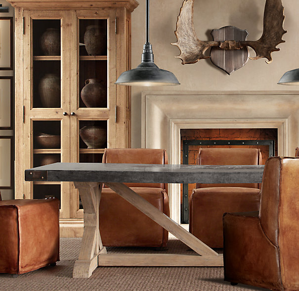 Copper Top Dining Room Tables Slate Farmhouse Kitchen: A View From The Coop: Table Love