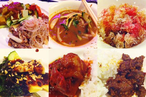 malaysian food festival buffet Grace Hotel Sydney