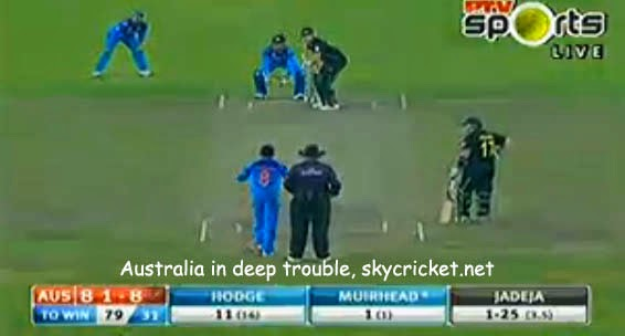 Indian spinners troubled Australia