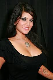 Hot Sunny Leone pictures in black dress