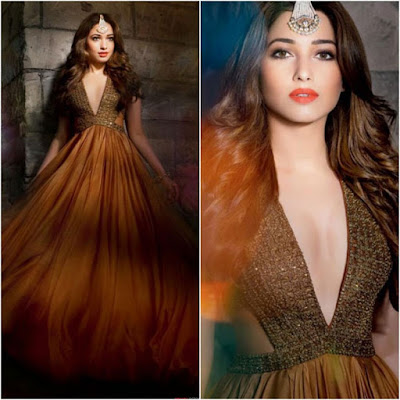 Tamanna Bhatia Hot Sizzling Photoshoot for Hello Magazine