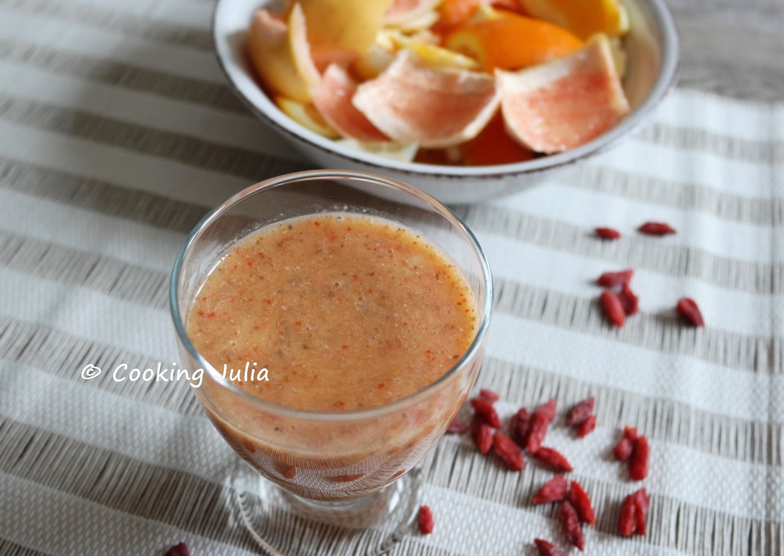 smoothie fraise banane thermomix