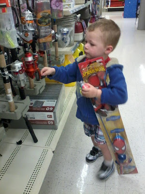 How to take your child fishing the western new yorker for Can you buy a fishing license at walmart
