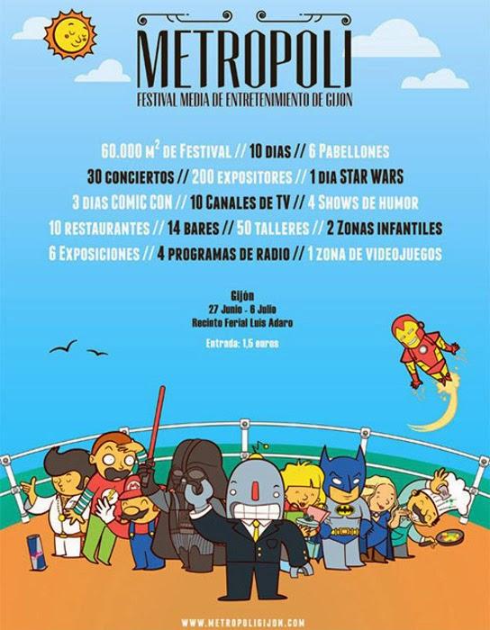 Metrópoli - Festival Media de Entretenimiento de Gijón