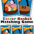 Free Easter Basket Matching Game