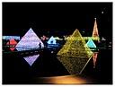 Neon Pyramids