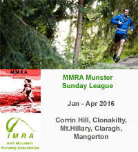 MMRA Trail Race nr Clonakilty...Sun 7th Feb 2016
