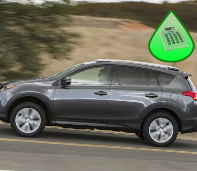 Toyota RAV4, Gas mileage per gallon, Highway driving RAV4