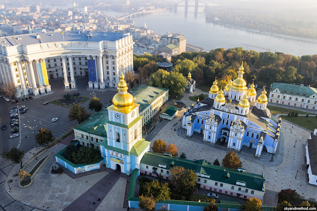 Eurovision 2017 ESC Kyiv Michael's Golden Monastery - Things to Do Kiev