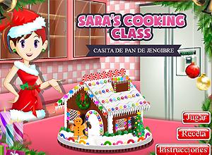 Cocina con Sara CASITA DE PAN DE JENGIBRE