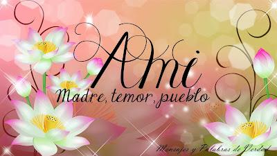 Otras variaciones del nombre Ami: Amy, Ammi, Ammy.
