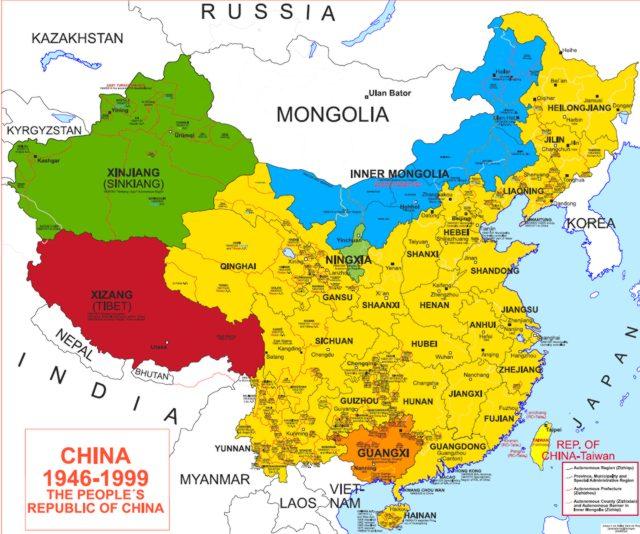 Risultati immagini per MONGOLIA INTERNA CINESE CARTA GEOGRAFICA