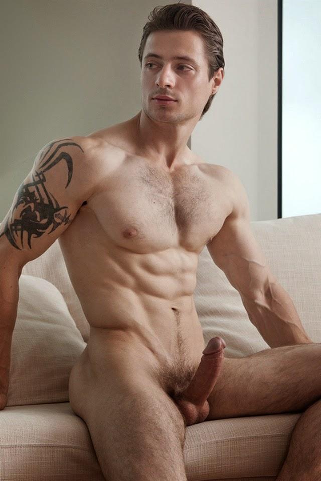 Naked handsome men shooting cum gay