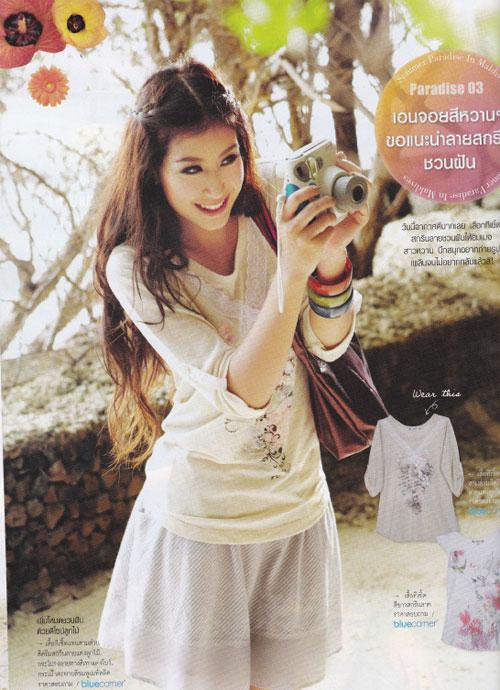 Foto: Chalida Wijitwongtong (มิ้ น ต์), Artis Cantik Mulus Thailand