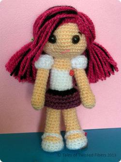 Amigurumi Doll Skirt : 2000 Free Amigurumi Patterns: Amy, the Amigurumi Doll Free ...