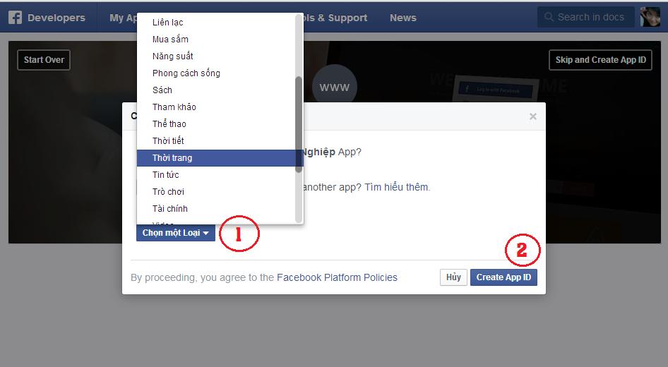 Hướng dẫn chèn bình luận Facebook vào Blogspot