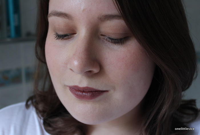 one little vice beauty blog: and other stories lipstick swatch