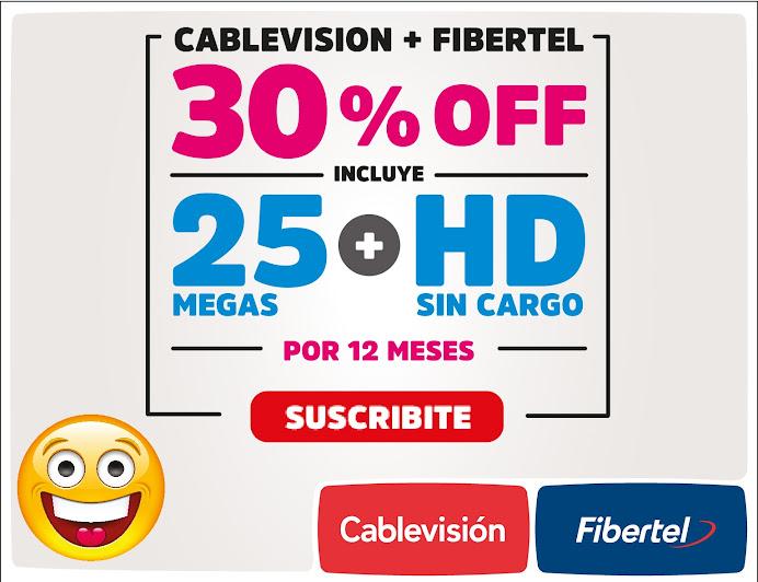 ESPACIO PUBLICITARIO: CABLEVISIÓN + FIBERTEL