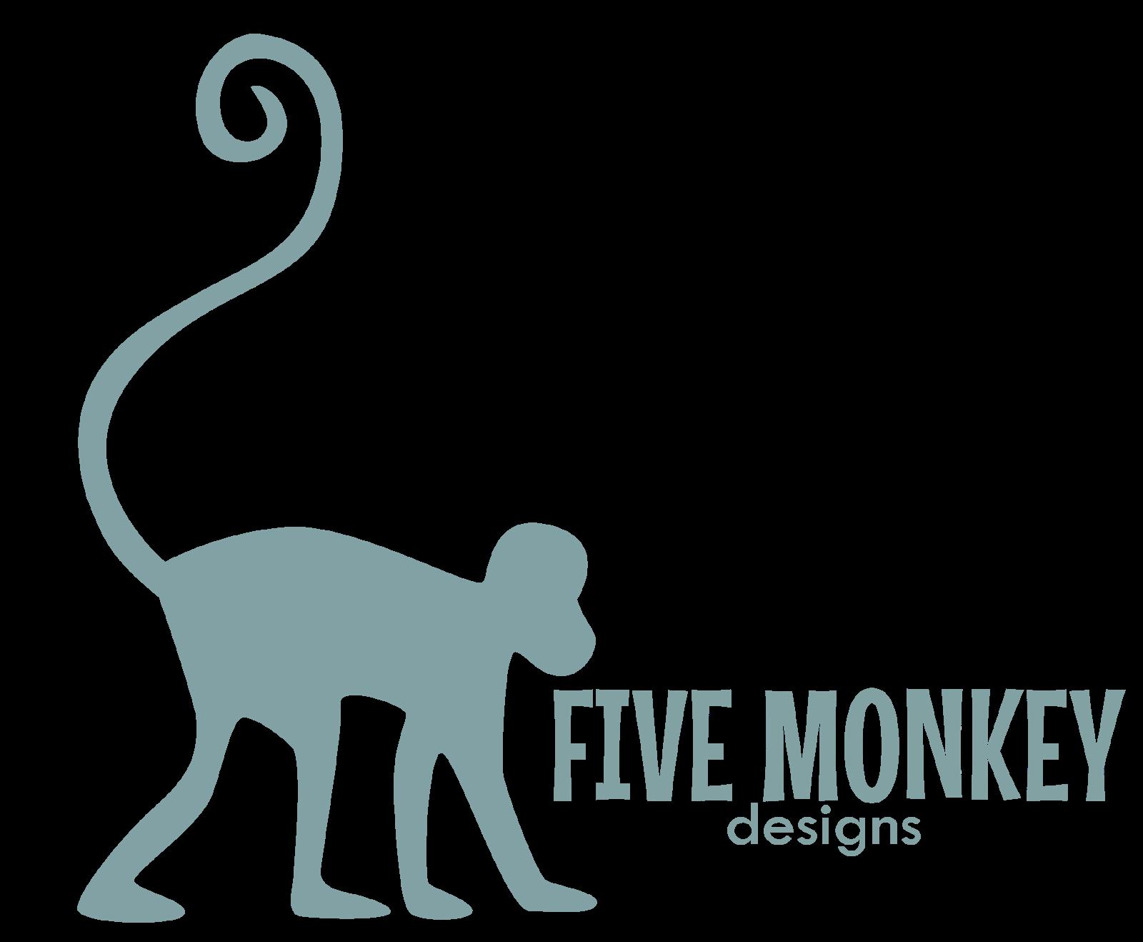 Five Monkey Designs