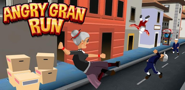 Angry Gran Run:Running Game Apk v1.9.0.0 Mod [Unlimited Coins / Gems]