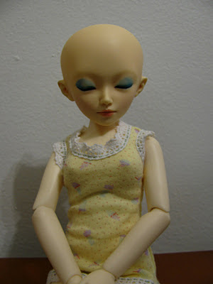 Minifee Shushu head on Customhouse Little Junior body