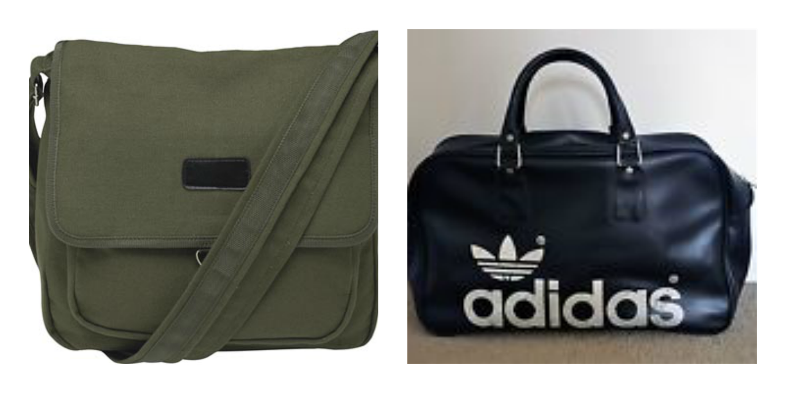 school bags, messenger bag, adidas retro sports bag