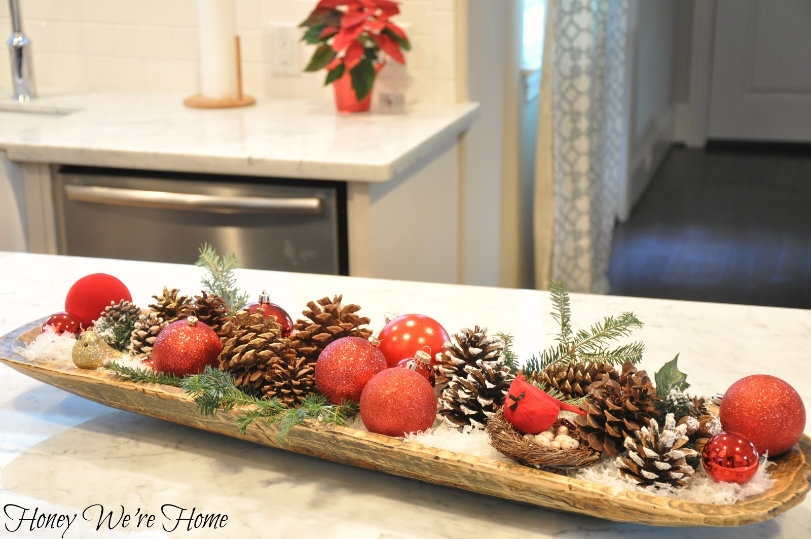 Christmas Dough Bowl Honey We Re Home