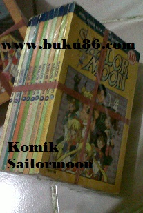 Komik Sailor Moon Berwarna