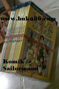 Komik Sailor Moon Berwarna