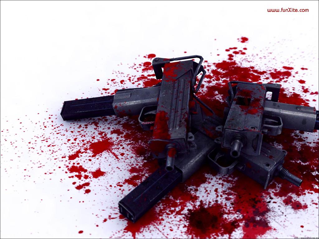 Bloody Wallpaper High Definition Guns