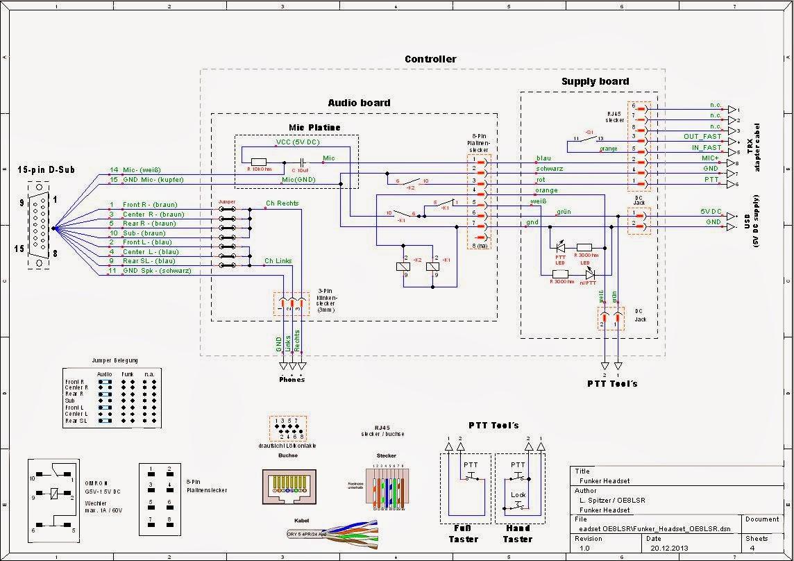 Wunderbar Headset Schaltplan Bilder - Die Besten Elektrischen ...
