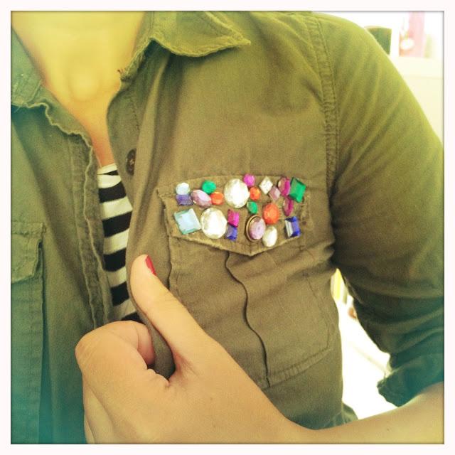 DIY Das mach ich selber. DIY Bluse wie bei Zara.