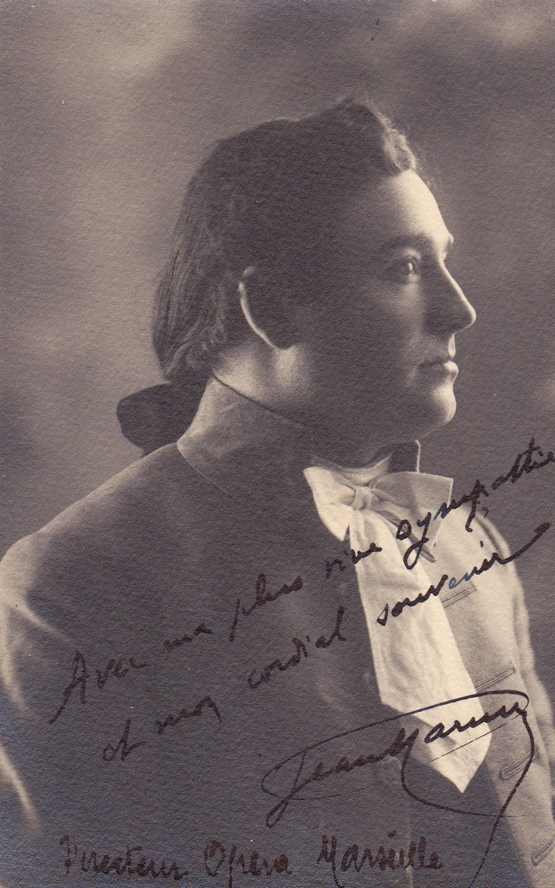 FRENCH TENOR JEAN MARNY (1885 - 1949) CD