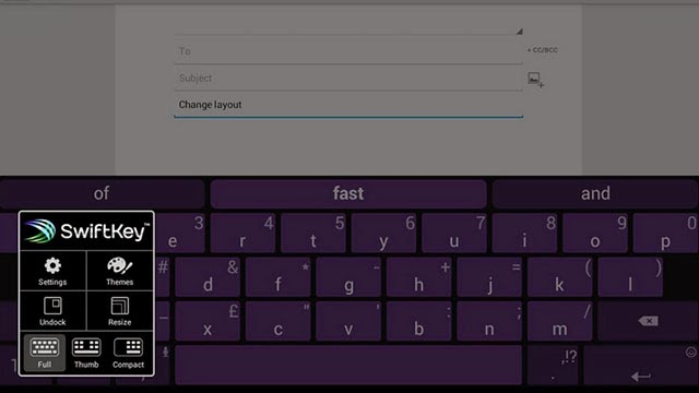 SwiftKey-Android Keyboard app