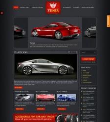 ZT Iner- ZooTemplate Auto dealer Joomla 1.5 Template
