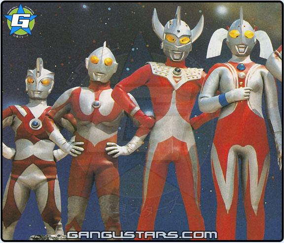 Ultraman Japanese super hero ウルトラマン www.gangustars.com
