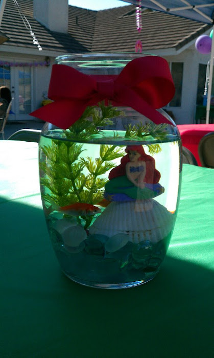 Creative creations for Ariel party decoration ideas