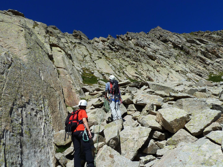Solana de Llauset (2674 m) cresta AD- | La Atracción del Vacío