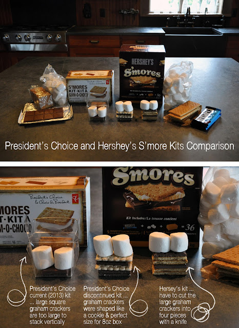 Lorrie Everitt compares s'more kits - make your own s'more wedding/party favors