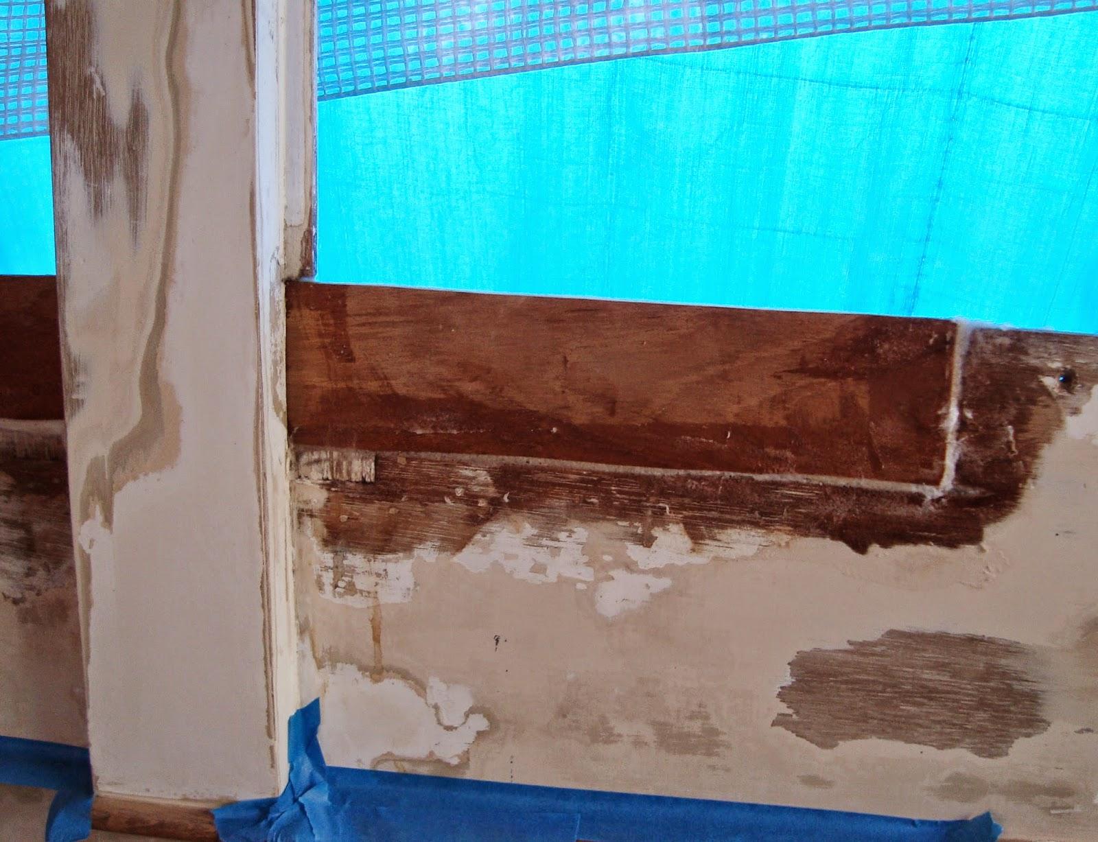 GB woodie plywood, Grand Banks 36 hull 349